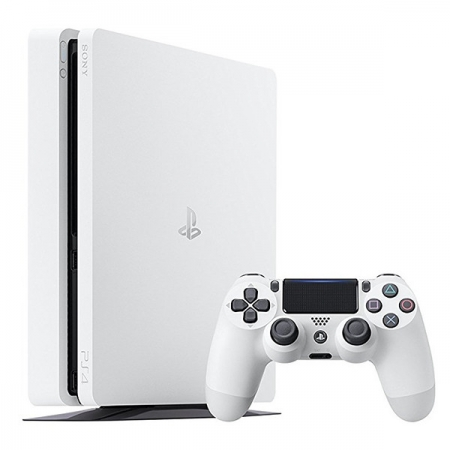 Sony Consola PS4 Slim, 500GB - Alb