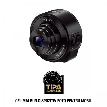 Sony Cyber-shot DSC-QX10 - camera zoom optic 10X pentru smartphone