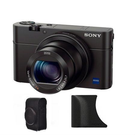 Sony Cyber-shot DSC-RX100 III Kit cu husa si grip RS125036308