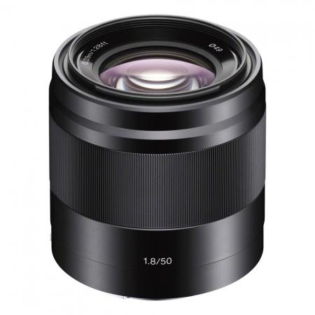 Sony E 50mm f/1.8 OSS negru