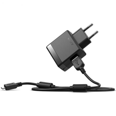 Sony EP881 - Incarcator retea rapid - MicroUSB, 1500 mAh, cablu USB detasabil 80cm