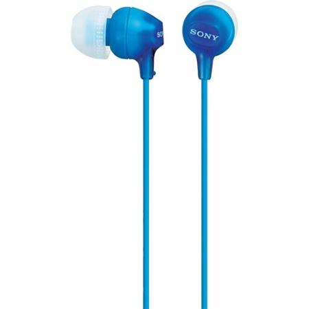 Sony MDR-EX15LPLI - Casti Audio In Ear, Albastru