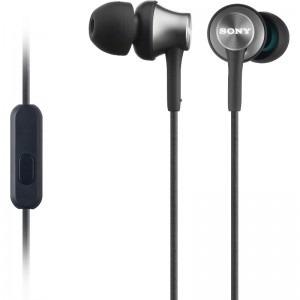 Sony MDR-EX450APH - Casti intraauriculare cu telecomanda si microfon - negru