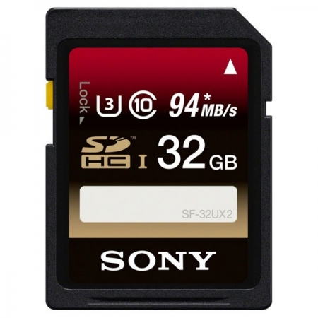 Sony Memorie SDHC 32Gb  UHS-I 94MB/s SF32UX2