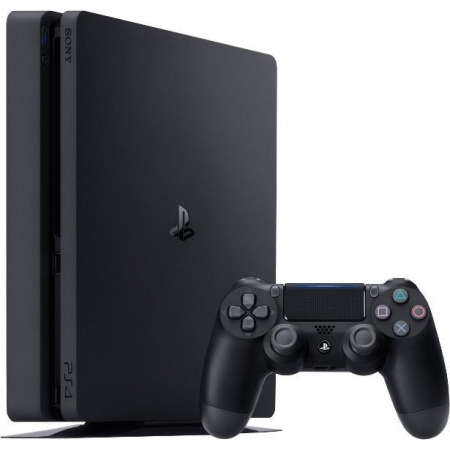 Sony PS4 Slim - Consola, 500GB, Chassis Black