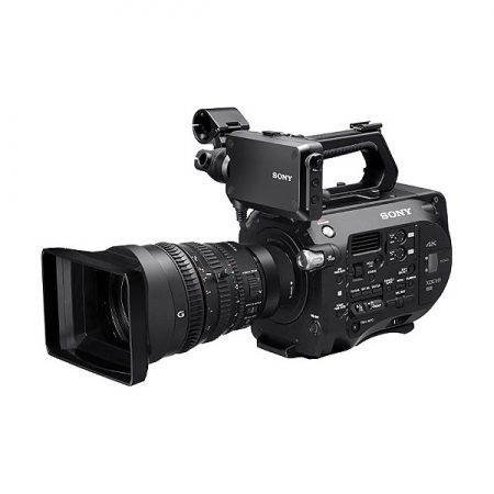 Sony PXW-FS7 kit FE PZ 28-135mm f/4 G OSS - camera video Super 35 (XDCAM)