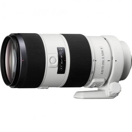 Sony Obiectiv 70-200mm f/2.8 G SSM II, montura Sony A, alb