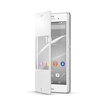 Sony SCR24 husa tip Style Book Xperia Z3 - Alb