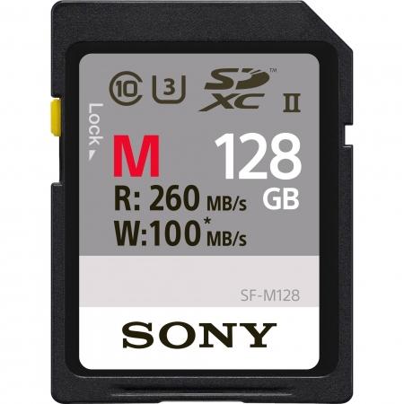 Sony SDXC 128Gb Class10 260MB/s UHS-II, U3 SF-M128