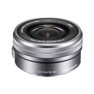 Sony SELP1650.AE SEL16-50mm F3.5-5.6 OSS E-mount argintiu
