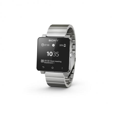 Sony SW2 - smartwatch business edition metalic silver - RS125025233
