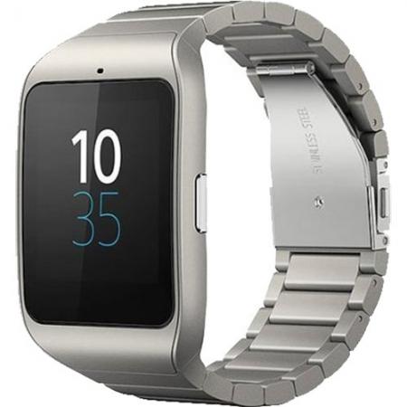 Sony SWR50 Smartwatch 3, Metalic Argintiu