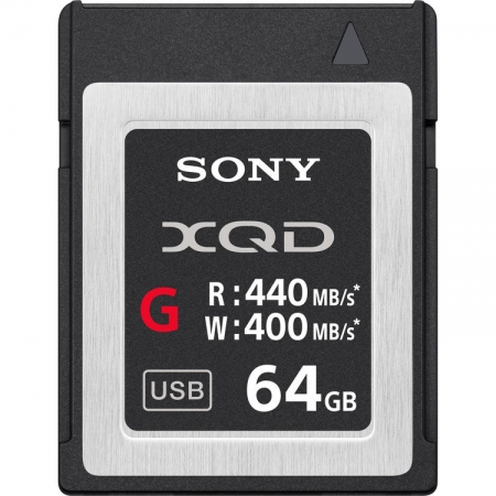 Sony XQD Seria G, 64GB, 440MB/s citire, 400MB/s scriere