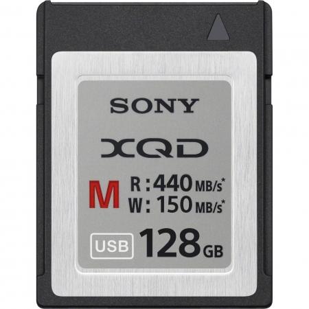 Sony XQD Seria M, 128GB, 440MB/s citire, 150MB/s scriere