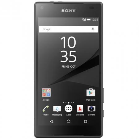 Sony Xperia Z5 E5823 Compact - 4.6', Octa-core, 32GB, 2GB RAM, LTE 4G - Negru