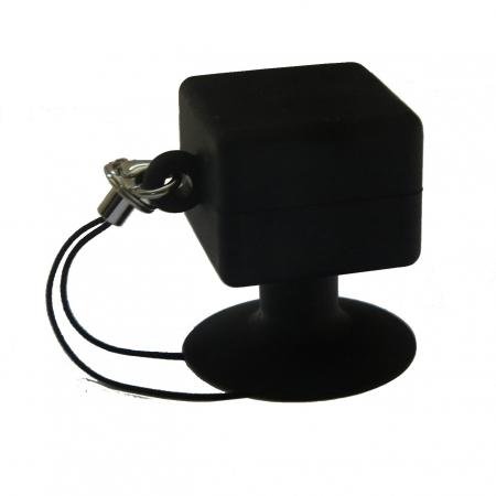 Suport telefon universal cu ventuza - negru
