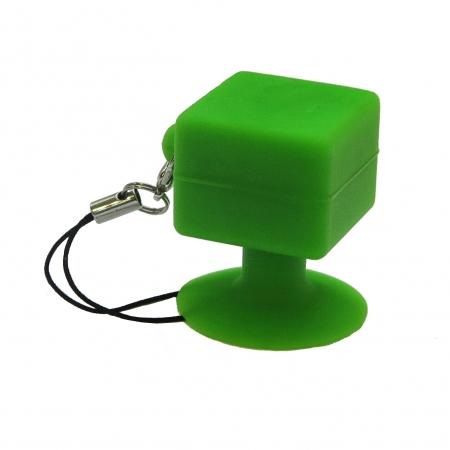 Suport telefon universal cu ventuza - verde