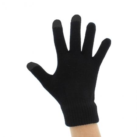 TNB - manusi touchscreen negre - marimea S