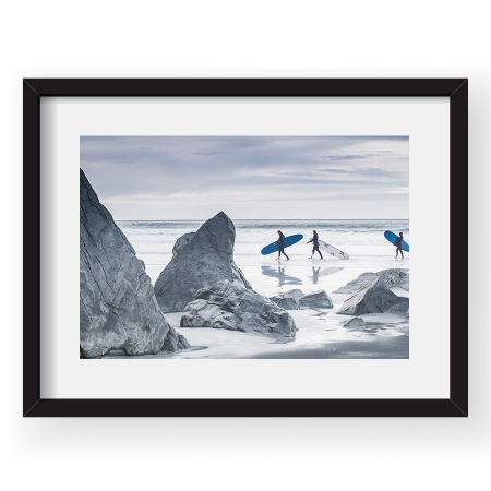 Surfers in the Arctic - Tablou 40x60cm Alex Conu 02