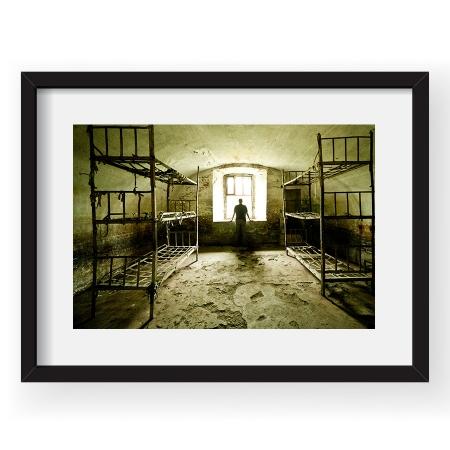 Empty beds - Tablou 40x60cm Eli Driu 02