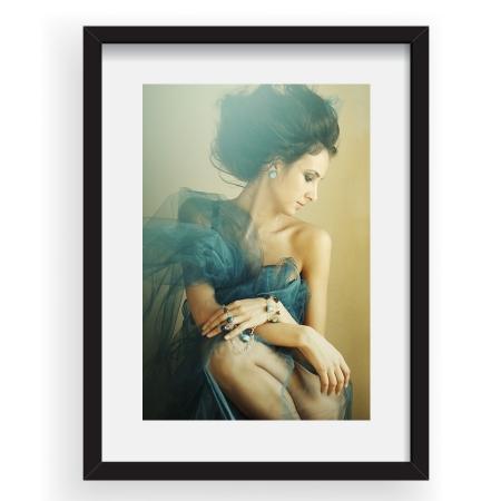 Princess Butterfly - Tablou 40x60cm Tatiana Volontir 04
