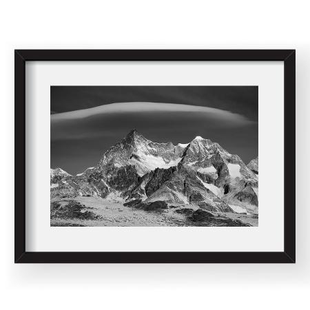 Lenticular peste Alpi - Tablou 40x60cm Dorin Bofan 04