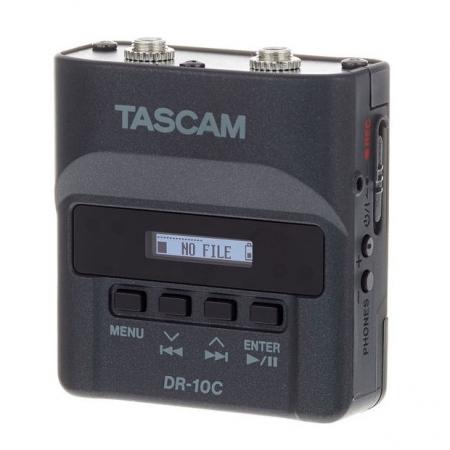 Tascam DR-10CS - Recorder audio digital 24bit/48Khz jack 3.5mm