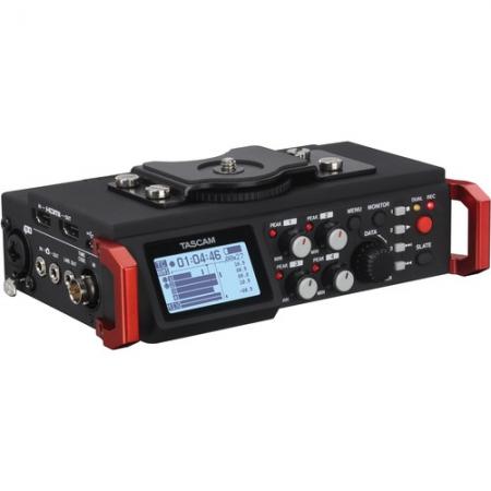 Tascam DR-701D - Recorder audio profesional 4 canale cu sincronizare video