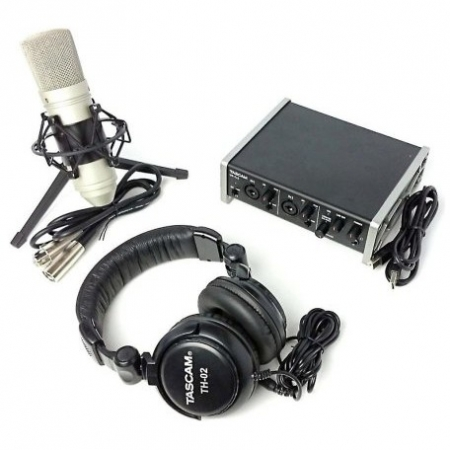 Tascam TrackPack 2x2 - Kit inregistrare voice-over