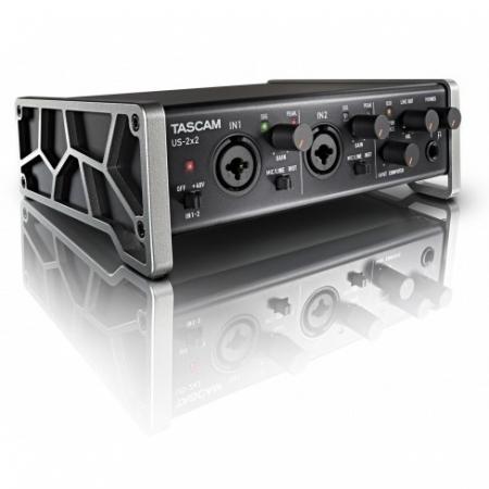 Tascam US-2x2 - Interfata audio USB cu 2 intrari XLR/TRS, Phantom Power RS125035823