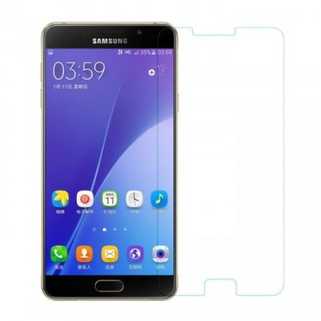 Tempered Glass - Folie protectie mata din sticla securizata, antireflex pentru Samsung Galaxy A7 (2016)