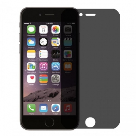 Tempered Glass - Folie protectie sticla securizata, privacy pentru iPhone 6 Plus