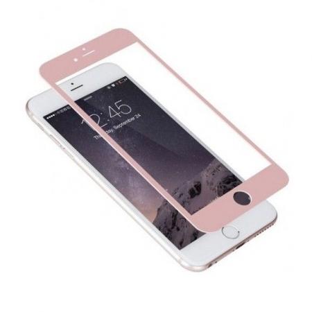 Tempered Glass Folie protectie sticla securizata iPhone 6 full 3D, rose gold