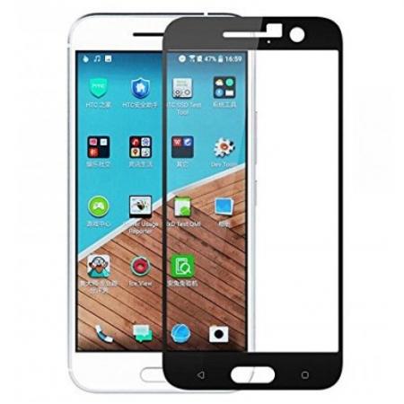 Tempered Glass Folie sticla securizata pentru HTC 10 negru