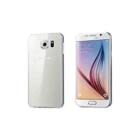 Tempered Glass - Husa Slim Samsung Galaxy S6