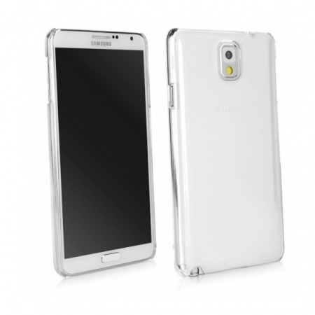 Tempered Glass - Husa Slim TPU pentru Samsung Galaxy Note 3