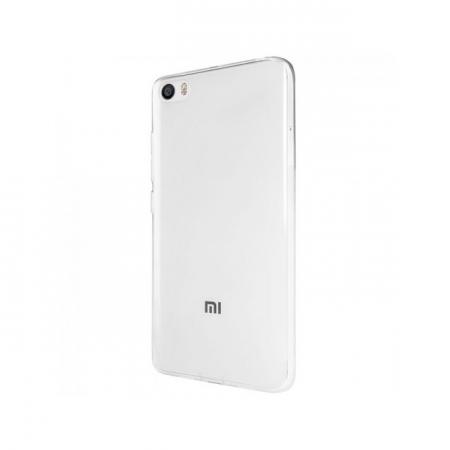 Tempered Glass - Husa Slim Xiaomi MI5, transparenta