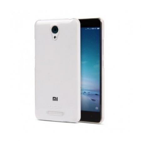 Tempered Glass - Husa protectie slim TPU pentru Xiaomi Redmi Note 2, Transparenta