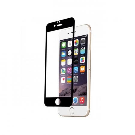 Tempered Glass - folie sticla pentru Iphone 6 - negru