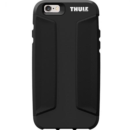 Thule Atmos X4 Slim Husa Capac spate + Folie Sticla Securizata pentru Apple iPhone 6 Plus, iPhone 6s Plus, Negru