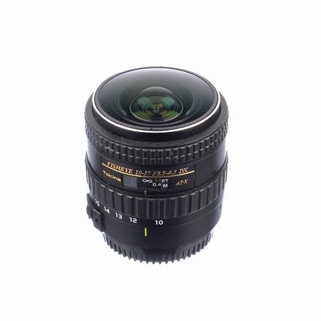 Tokina 10-17mm f/3.5-4.5 ATX DX fisheye pentru Canon - SH7427