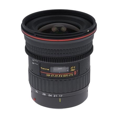 Tokina AT-X 17-35mm F4 Cinema Pro FX Nikon
