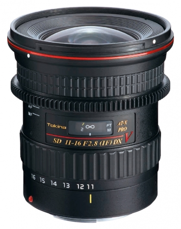 Tokina ATX 11-16mm f/2.8 Cinema Pro DX II Canon
