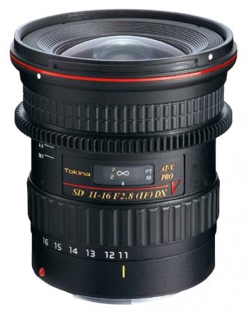 Tokina ATX 11-16mm f/2.8 Cinema Pro DX II Nikon AF