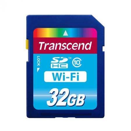 Transcend Wi-Fi SDHC clasa 10 32GB - card de memorie wireless RS125004374-2
