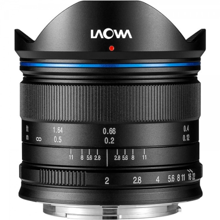 Venus Optics Laowa 7.5mm f/2 - montura MFT, Negru