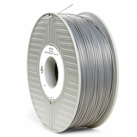 Verbatim Filament Printer 3D ABS 1,75mm 1kg argintiu / gri metalic