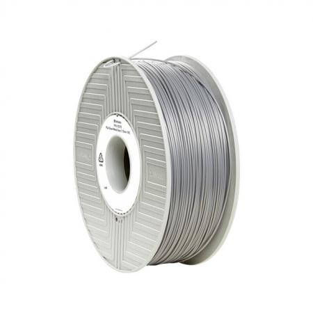 Verbatim Filament Printer 3D PLA 1,75mm 1kg argintiu / gri metalic