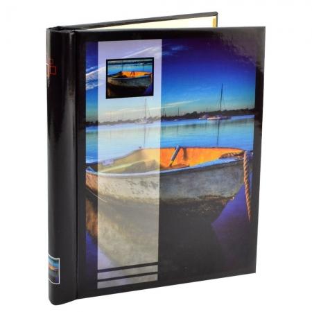 Vintage Boat - Album foto, 20 pagini autoadezive, 80 poze, 23x28cm