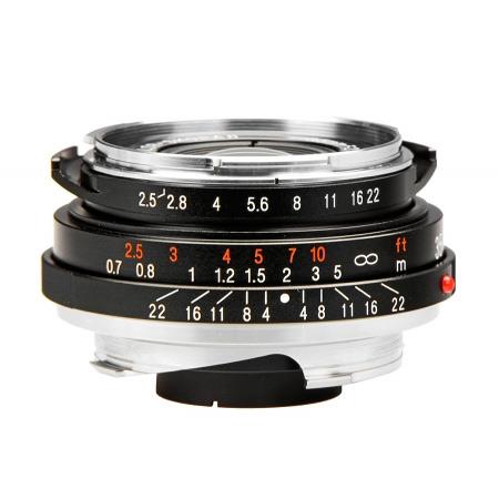 Voigtlander Color Skopar 35mm f2.5 P II VM-mount - RS7807598